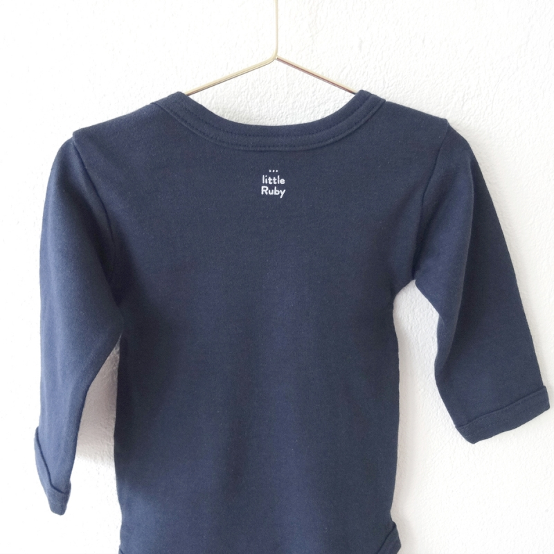・Robbie the seal・Romber navy blue long-sleeve